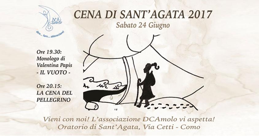 Cena di Sant'Agata 2017